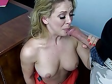 blonde boss deepthroat fingering fuck hd mammy milf old-and-young