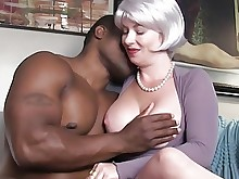 big-tits black blowjob boobs handjob interracial juicy milf seduced