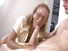 ass big-tits big-cock cumshot daughter facials glasses granny hot