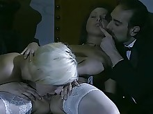 stocking threesome full-movie anal ass fuck group-sex licking milf