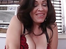 big-tits boobs brunette mammy mature milf pov