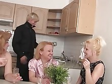 exotic foursome fuck granny housewife mature office old-and-young party