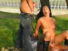 blowjob brunette cumshot facials hot mature public ride sucking