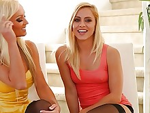 old-and-young pornstar teen babe blonde fuck juicy lesbian
